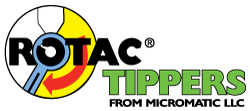 Rotac Tippers from Micromatic LLC | National Garbage Man Day Sponsors