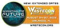SWANA WasteCon - Waste Conference 2015