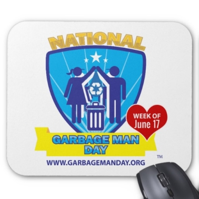 Mousepad - National Garbage Man Day Merchandise