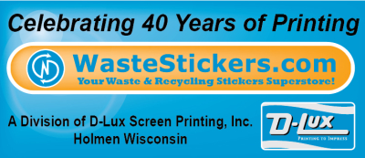 WasteStickers.com - National Garbage Man Day Sponsor
