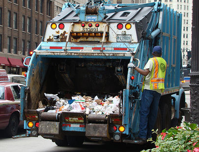 Truck Step Up >> Be Safe Tuesday: Operation Safe Drive - Garbage Man Day