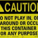Be Safe Tuesday:  People In Dumpsters