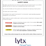 Safety Tuesday – Watch For Safety Signs
