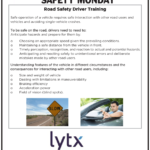 Safety tuesday – Road Driving Training