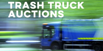 Trash Truck Auctions | National Garbage Man Day Sponsor