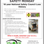 Safety Tuesday – National Safety Council Loss History