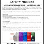 Safety Tuesday – Layering Is Key