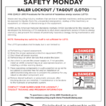 Safety Tuesday -Baler Lockout/Tagout (LOTO)