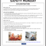 Safety Tuesday – Acclimatization