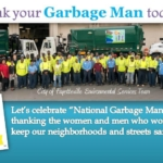 Keep the Party Going! Celebrate National Garbage Man Day 2017 this week too!