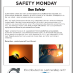 Safety Tuesday – Sun Safety