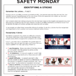 Safety Tuesday – Identify A Stroke