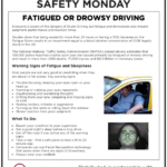 Safety Tuesday – Fatigued or Drowsy Driving