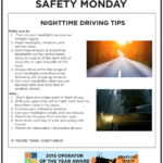 Safety Tuesday – Nighttime Driving Tips