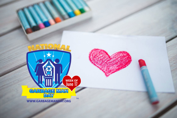 Color Some Love for Your Garbage Men and Women with the National Garbage Man Day Coloring Book - National Garbage Man Day 2018