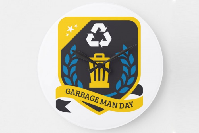 Time is Running Out! Order your National Garbage Man Day Merchandise Today!