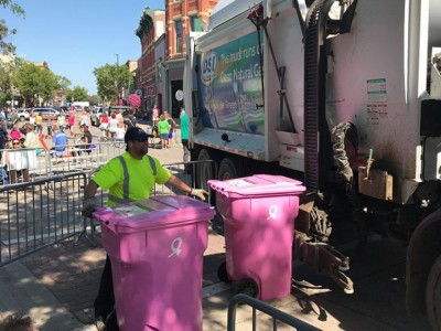 Breast Cancer Awareness - Dick's Sanitation (DSI) - Waste and Recycling Workers Week