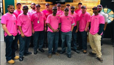 Breast Cancer Awareness - Waste Management in Houston - Waste and Recycling Workers Week