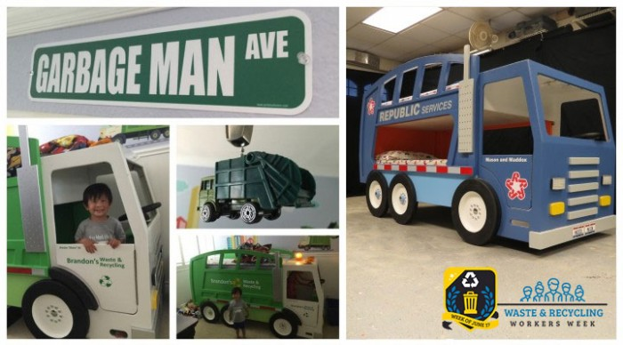 Order Your Handcrafted Garbage Truck Bed