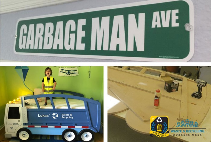 Order the Best Kid's Garbage Truck Bed - Waste & Recycling Workers Week