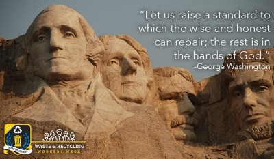 Waste and Recycling Workers Week - Presidents' Day
