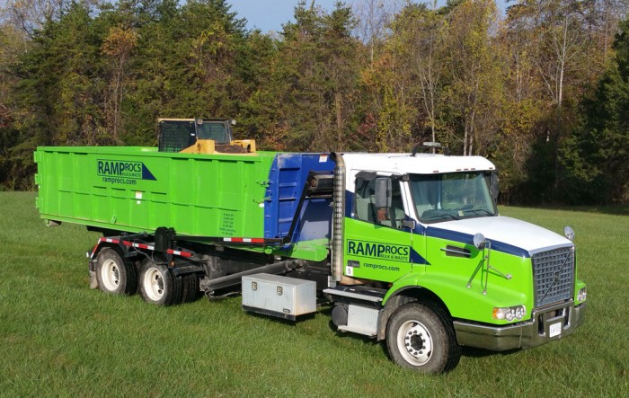 Ramp Container | Waste and Recycling Workers Week Sponsor