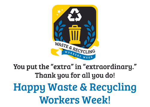 Store Specials - Waste and Recycling Workers Week Merchandise