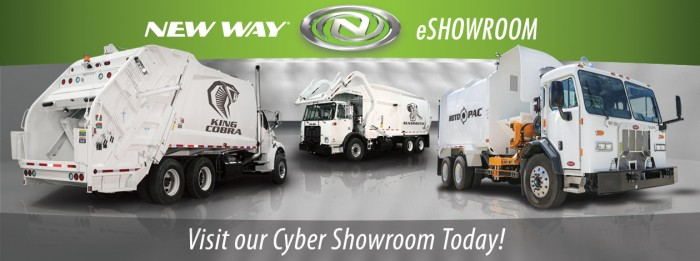 New Way Trucks eShowroom | Waste and Recycling Workers Week Sponsor