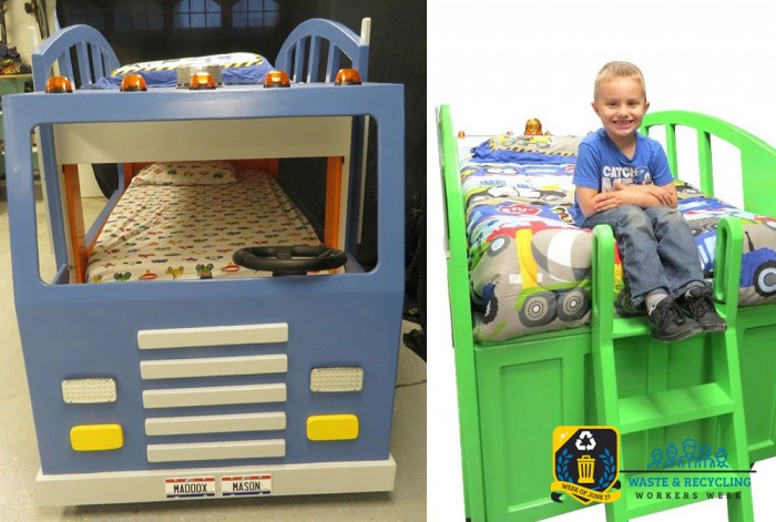 Design the Perfect Garbage Truck - Waste and Recycling Workers Week