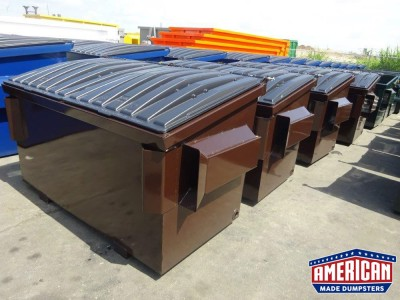Front Load Dumpsters by American Made Dumpsters