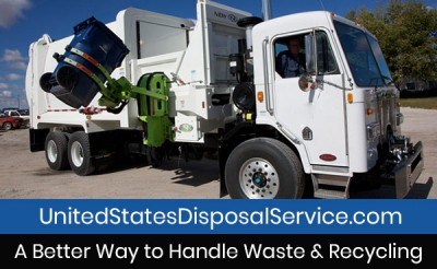 United States Disposal Service Residential Truck